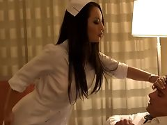 Asa Akira, Blowjob, Brunette, Clinic, Doctor, Ethnic, MILF, Money, Nurse, Uniform,