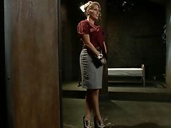 Abuse, American, BDSM, Big Tits, Blonde, Bondage, Brutal, Charisma Cappelli, Clinic, Dress,