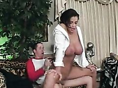 Aunt, Big Tits, Blowjob, Brunette, Dick, Erotic, Hardcore, MILF, Old And Young, Pussy,
