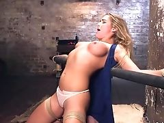 Babe, BDSM, Bizarre, Blonde, Bondage, Bound, Fetish, Fucking, Gagging, Hardcore,