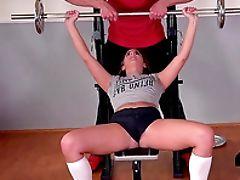 Amirah Adara, Ass, Ass Fucking, Babe, Bold, Couple, Cumshot, Fingering, Gym, Hardcore,