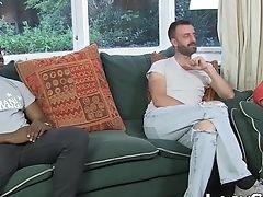 Anal Sex, Balls, British, GILF, Granny, Threesome,