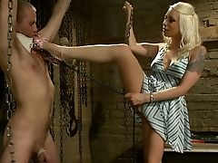 Blonde, Dress, Feet, Hardcore, Legs, Long Legs, Lorelei Lee, Mistress,