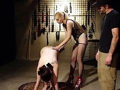 BDSM, Blonde, Blowjob, Bondage, Brunette, Couple, Femdom, Fetish, FFM, Fingering,