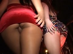 Ass, Babe, Club, Gorgeous, Lesbian, Licking, Liza Del Sierra, Music, Party, Public,