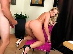 American, Big Tits, Blonde, Boss, Cougar, From Behind, Money, White, Young,