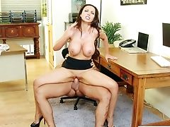 Beauty, Big Tits, Brunette, Cute, Hardcore, Horny, Nikki Benz, Secretary, Slut,