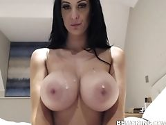 Big Tits, Brunette, Clit, Fake Tits, Model, Solo, Webcam, Whore,