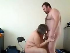 Big Tits, Blowjob, Brunette, From Behind, Housewife,