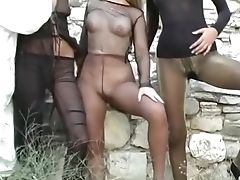 Big Cock, Big Tits, Boobless, Brunette, Classic, Cunt, Group Sex, Outdoor, Retro, Stockings,