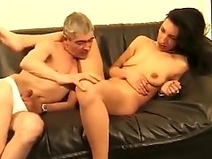 Anal Sex, Blowjob, Brunette, Double Penetration, Fisting, Hardcore, Mature, Threesome,