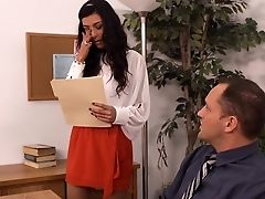 American, Babe, Blowjob, Brunette, European, French, Lou Charmelle, Office, Pussy, Story,