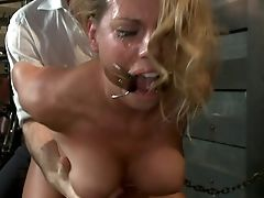 Anale Seks, Dame, Bdsm, Grote Tieten, Blond, Bondage, Ruig, Charisma Cappelli, Domination, Emo,