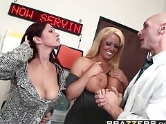Alison Star, Cul, Pipe, éjaculation, Doctor,