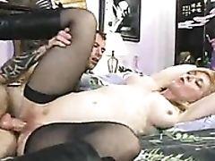 Big Tits, Blonde, Blowjob, Hardcore, Lactating, MILF, Milk, Rough, Stockings, White,