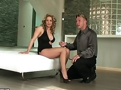 Ana Monte Real, Behind The Scenes, Big Tits, Feet, Foot Fetish, MILF, Posing, Sexy, Tiffany Doll,