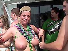Babe, Bikini, Boat, Drunk, Exhibitionist, Flashing, Outdoor, Public, Reality,