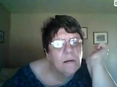 Amateur, Dik, Oma, Ouderen, Webcam,