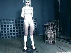 BDSM, Blonde, Bondage, Fetish, Miniskirt, Ponytail, Submissive, Teen,