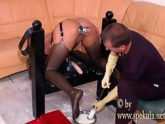 Anal Sex, Ass, Enema, Kinky, Latex, Milk, POV,