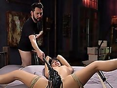 BDSM, Bondage, Fetish, Shaved Pussy, Spanking, Submissive,