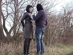 Amateur, BDSM, Bondage, Boots, Car, Czech, Fetish, Gloves, Handcuffed, Leather,