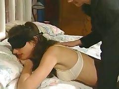Amateur, Babe, Blindfold, Doggystyle, Licking, Strapon,