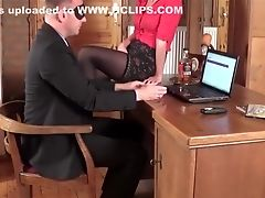 Ass, Blonde, Boss, Creampie, Desk, Secretary,