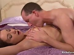 Couple, Cumshot, Facial, Hardcore, Kissing,
