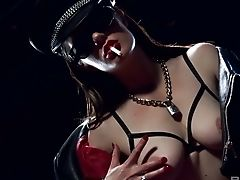 Anal Sex, Ass Fucking, Big Tits, Blowjob, Brunette, Cowgirl, Cumshot, Deepthroat, Face Fucking, Facial,