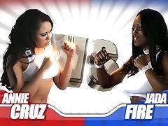 Annie Cruz, Big Ass, Big Tits, Black, Cumshot, Ethnic, Facial, Fetish, Group Sex, Hairy,