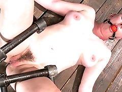 BDSM, Bondage, Clit, HD, Jerking, Nipples, Rough,