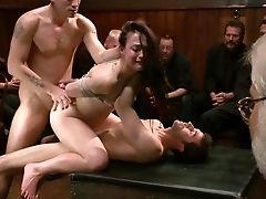 Anal Sex, BDSM, Brunette, Cheyenne Jewel, Emo, Fmm, Gangbang, Group Sex, Hardcore, Orgy,