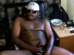 Bear, Big Black Cock, Black, Cum, Cumshot, Daddies, Sex Toys, Solo, Stud,
