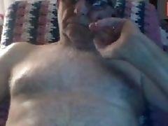 Amateur, Daddies, Dick, Grandpa, Handjob, Masturbation, Webcam,
