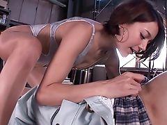 Couple, Japanese, Short Haired, Tina Yuzuki,