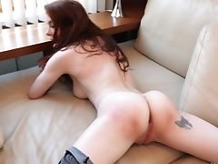 Anal Sex, Ass, Bra, Cum, Cum In Mouth, Cumshot, Double Penetration, Gaping Hole, Hardcore, Lingerie,