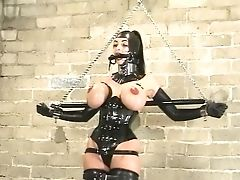 BDSM, Big Tits, Rubber, Shemale, Submissive, Summer Cummings,