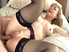 Big Tits, Blonde, Lingerie, Mature, MILF, Nylon, Stockings,