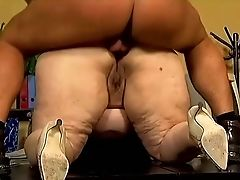 Anal Sex, BBW, Blowjob, Doggystyle, Fat, Hardcore, Mature, Old, Rough, Vagina,