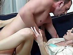 Amateur, Ass, Beauty, Blonde, Boobless, Boyfriend, Clothed Sex, Couch, Couple, Cowgirl,