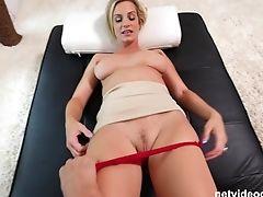 Big Tits, Blonde, Bra, Casting, Cum, Cum In Mouth, Long Hair, MILF, Reality,