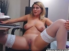 Big Tits, Bold, Homemade, Jerking, Masturbation, Model, Natural Tits, Nylon, Rough, Sex Toys,