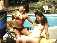 Blonde, Brunette, Classic, Group Sex, Lesbian, Outdoor, Retro, Strapon, Threesome, Vintage,
