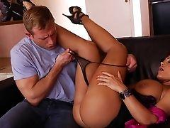 Big Cock, Brunette, Hardcore, HD, Lisa Ann,