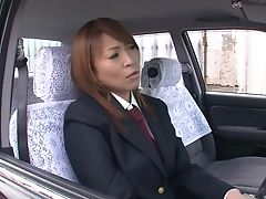 Bra, Business Woman, Car, Couple, Cowgirl, Fucking, Japanese, Mature, Riding,