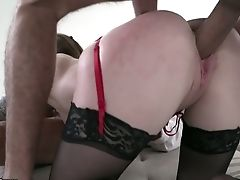 Anal Sex, Ass, Babe, Beauty, Blowjob, Bold, Boobless, Cowgirl, Cumshot, Double Penetration,