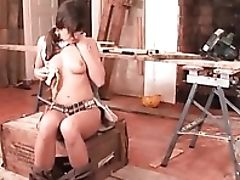 Babe, Brunette, Food, Masturbation, Naughty, Piercing, Pussy,