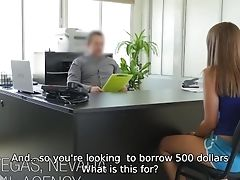 69, Audition, Babe, Blonde, Blowjob, Casting, Desk, Doggystyle, Exhibitionist, Money,