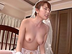 Ass, Big Natural Tits, Bra, Bride, Couple, Gorgeous, Hardcore, Horny, Japanese, Lingerie,